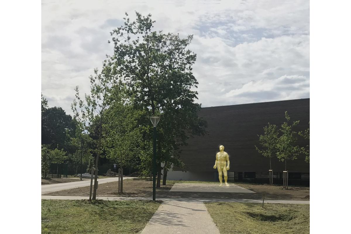architecte-amenagement-paysager-statue-AREA-Studio-pugiliste-2