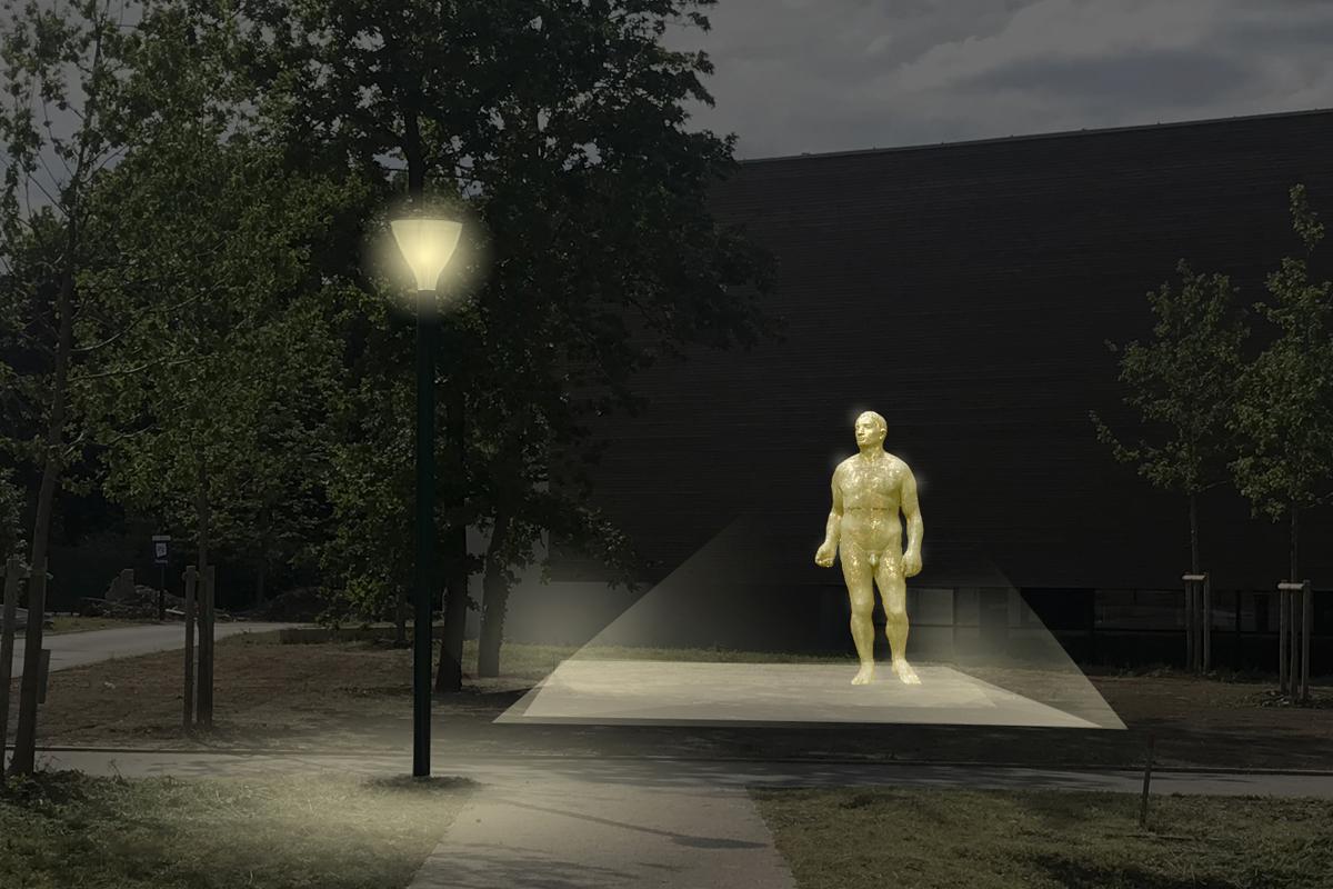 architecte-amenagement-paysager-statue-AREA-Studio-pugiliste