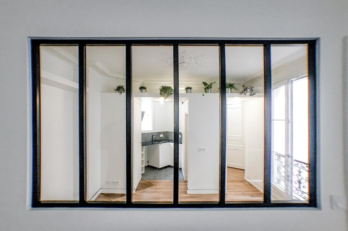 architecte-restructuration-appartement-verriere-noir-AREA-Studio