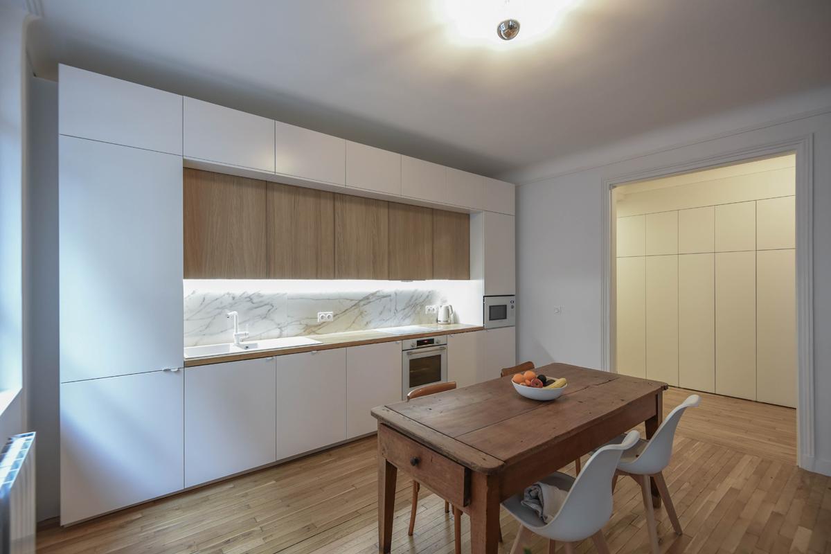 architecte-restructuration-renovation-aménagement-cuisine-bois-AREA-Studio